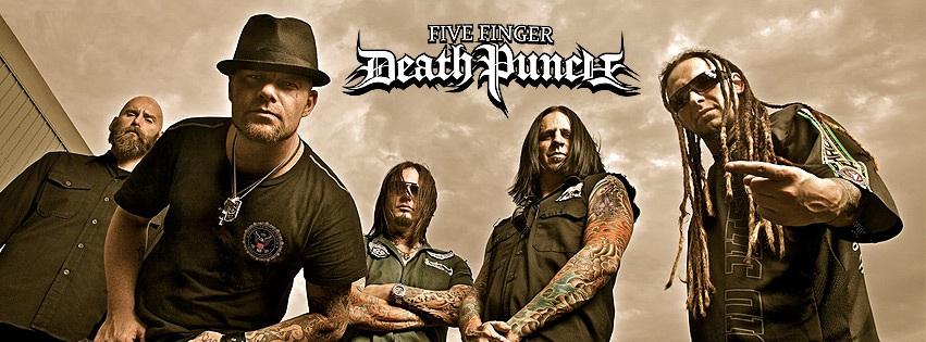 Новый мерч Five Finger Death Punch